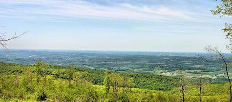 Derry Township from Chestnut Ridge. Click to enlarge
